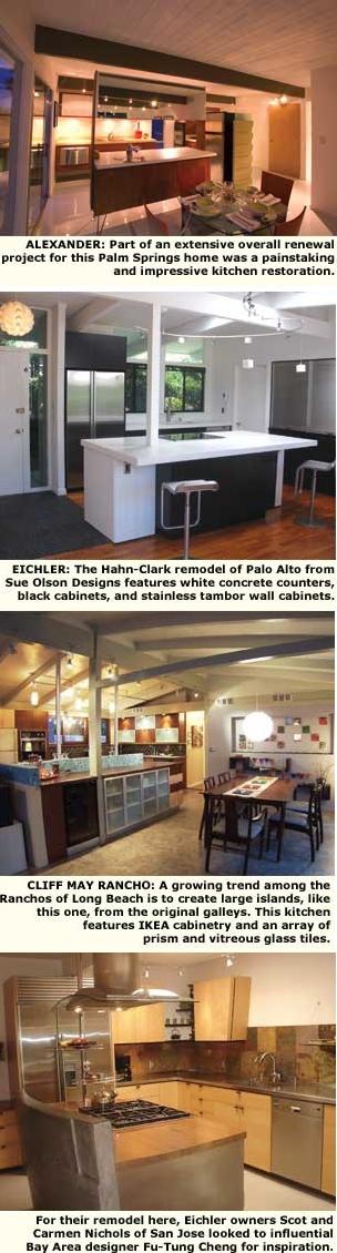 Modern Kitchen Renewal Eichler Network