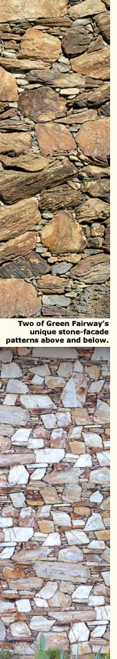 stone fronts