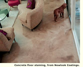 concrete flooring new look coatings