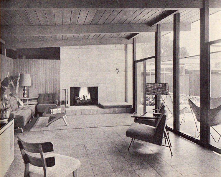 The Homes There Sat On A Quarter Acre Each And Sold For 25000 To 29500 Pretty Penny In Early 50s Vintage Brochure Includes This Interior