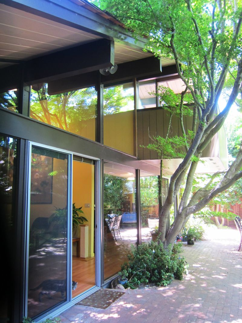 Eichler Homes in Professorville Palo Alto