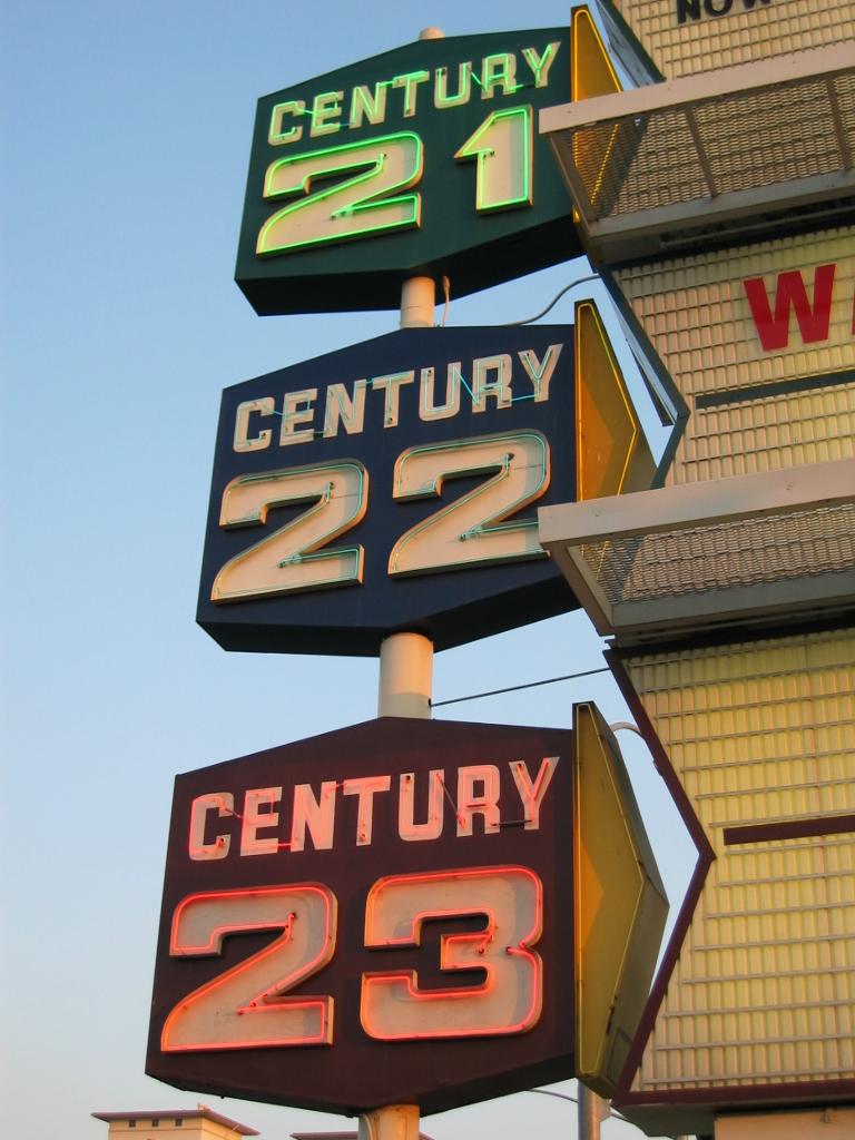 Century sign