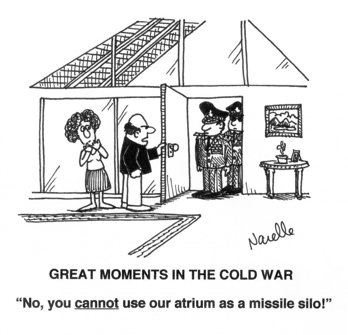 Cartoon Break Missile Diplomacy Eichler Style Eichler