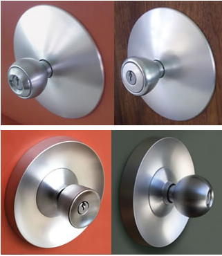 Top Eichler escutcheon plates. Bottom Rosette plates. : door escutcheons - pezcame.com