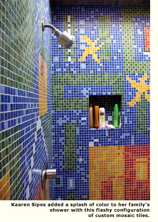 kaaren shower tile design