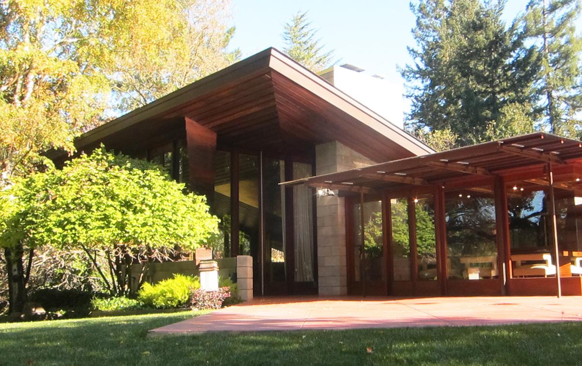The Buehler house