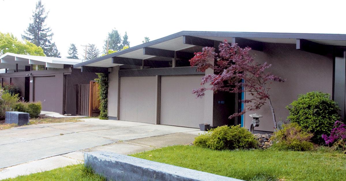 Eichler Garage Doors