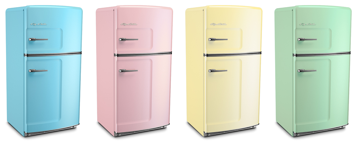 When Refrigerators Go Retro