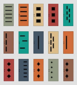 The dozen configurations of MCM Doorlite Kits offered by Crestview Doors.  sc 1 st  Eichler Network & First Impressions Simple Statements - Page 3 | Eichler Network