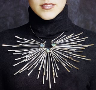 Jewelry as art is finding newfound attention—even among fans of mid-century design.