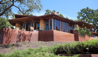 Frank Lloyd Wright's famous Hanna house