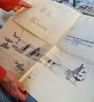 original architectural plans