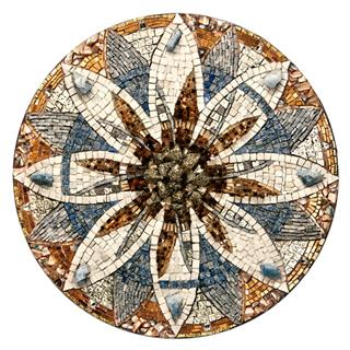 Sizemore's 'Vox' mandala mosaic.