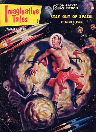 Pulp magazines Imaginative Tales and Amazing Adventures.