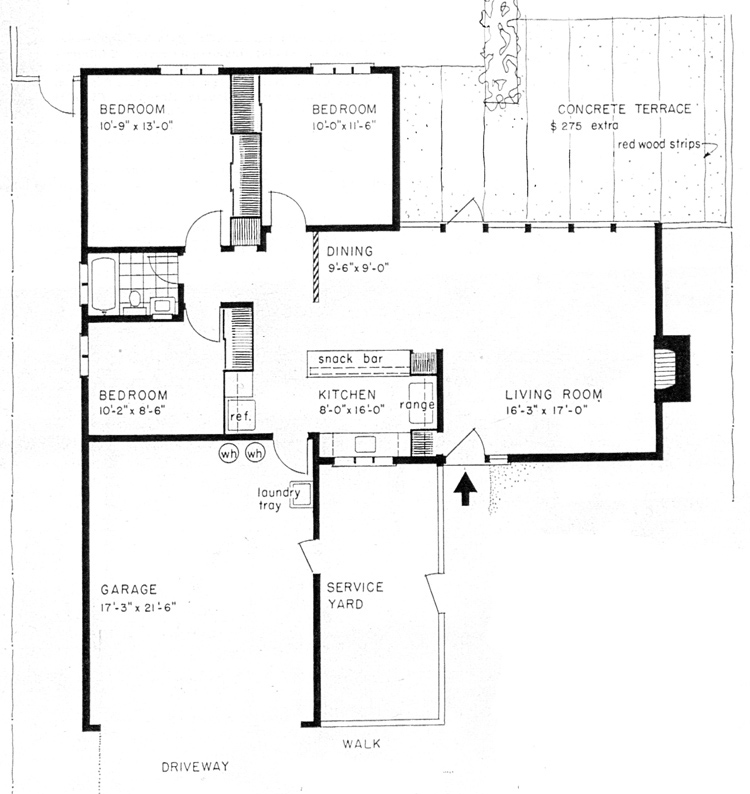Eichler House Floor Plans House Plans