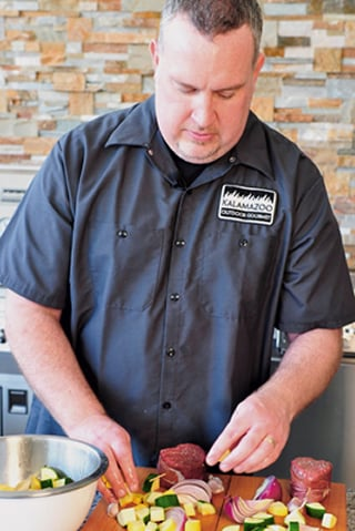 Russ Faulk of Kalamazoo Outdoor Gourmet