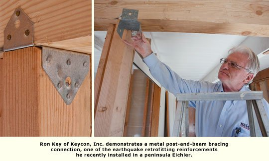 ron key shows post and beam reinforcement