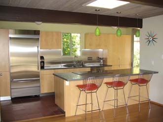 Eichler Network Kitchen Cabinets