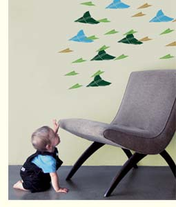 kid and modern chair