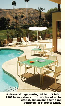 patio furniture Richard Schultz