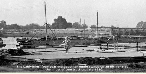 larivieres' daughter stands on slab foundation