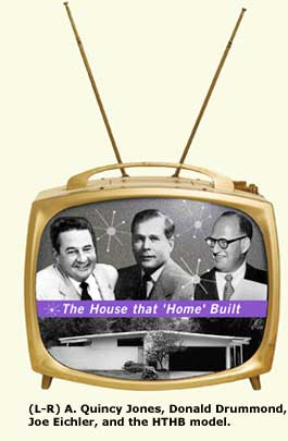 a. quincy jone, drummond, joe eichler in tv