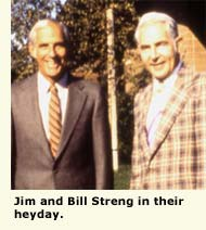 jim and bill streng in their heyday