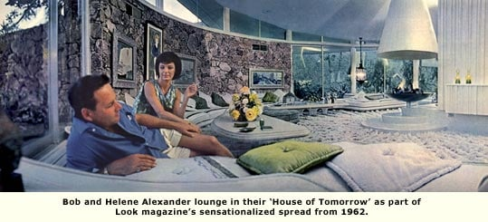 alexanders in their house of tomorrow living room