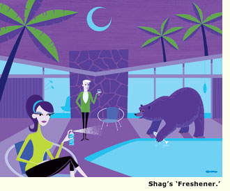 shag artwork freshener