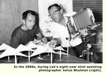 leland lee with julius schulman in the fifties