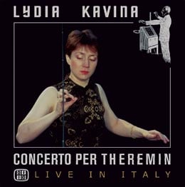 lydia kavina album cover