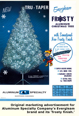 Shimmering Nostalgia The Aluminum Christmas Tree Page 2 Eichler
