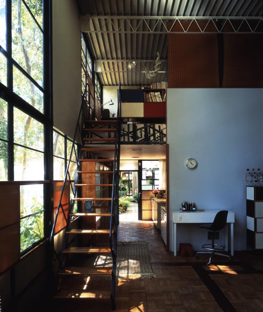 eames steel house