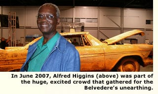 arthur higgins and the unearthed plymouth belvedere