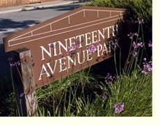 nineteenth avenue sign
