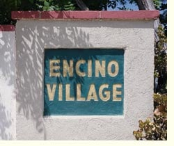 encino village sign