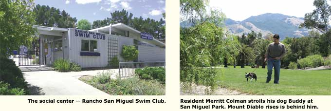 swim center and resident and mt. diablo