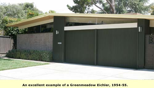 example of green meadow eichler