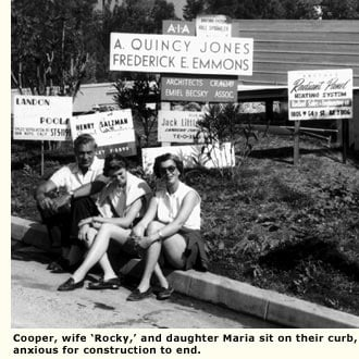 gary cooper wife and daughter curbside