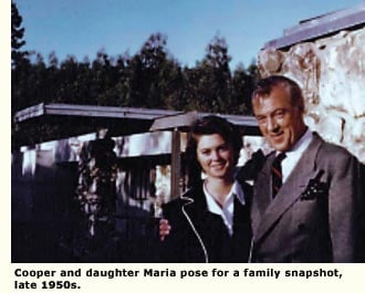 gary cooper and daughter